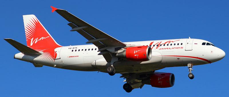 Airbus A319 ВИМ-Авиа. Фотографии, видео и описание самолетов