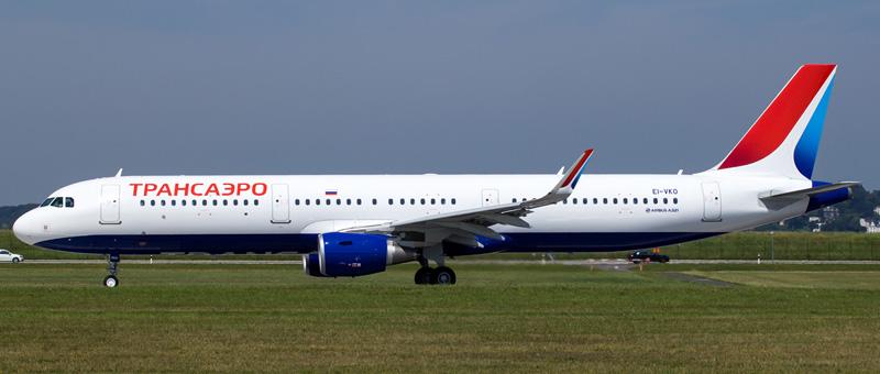 Схема салона и лучшие места Airbus A321 Трансаэро