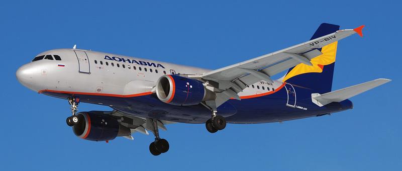 Airbus A319 — Донавиа. Фотографии и описание самолета