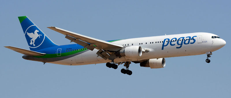 Boeing 767-300 Pegas Fly. Фото, видео и описание самолета