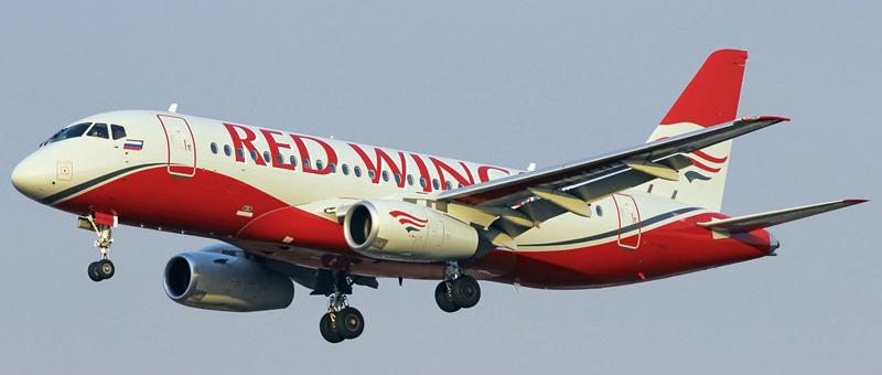 Сухой Суперджет 100 — Red Wings. Фотографии и описание самолета