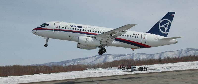 Иран собирается приобрести сто самолетов SSJ 100