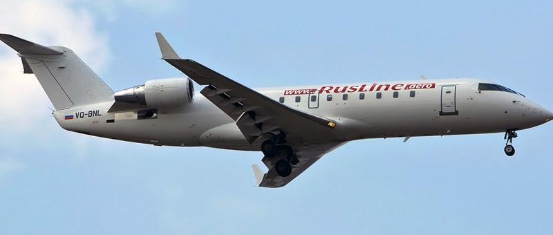 Canadair CRJ-100 — Руслайн. Фотографии и описание самолета