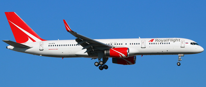Boeing 757-200 — Royal Flight. Фотографии и описание самолета