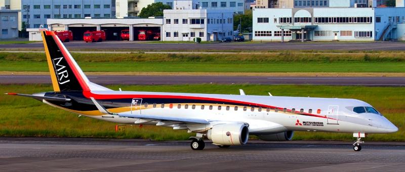 Первая поставка Mitsubishi Regional Jet состоится не раньше 2018 года