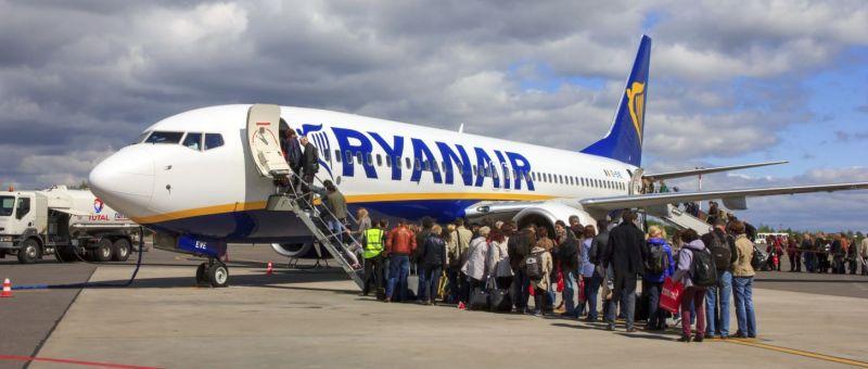 Международный пассажиропоток Ryanair преодолел отметку в 100 млн человек