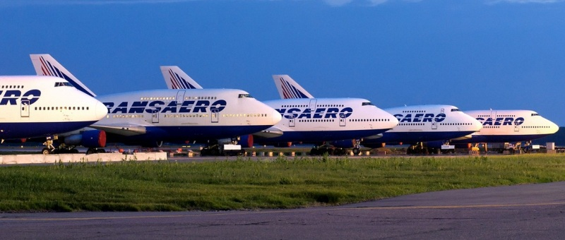 34 самолета из парка «Трансаэро» передадут «Аэрофлоту»