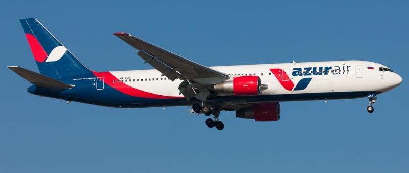Авиакомпания Azur Air начнет выполнять регулярные рейсы