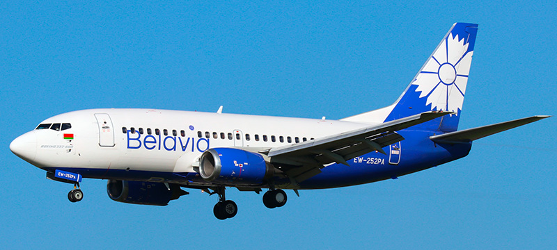 Belavia Boeing 737-500