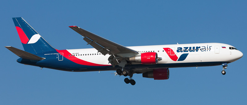 Boeing 767-300 Azur Air. Фотографии и описание самолета