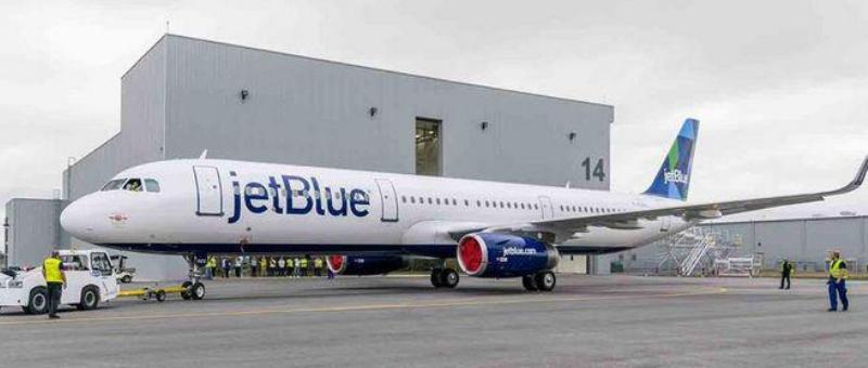 Компания Airbus собрала первое воздушное судно в США