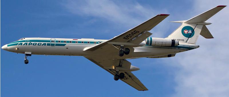 Ту-134Б-3 Алроса. Фотографии и описание самолета