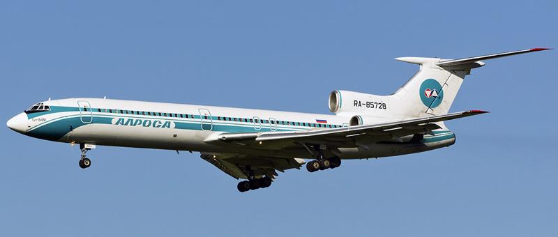 Ту-154М Алроса. Фотографии и описание самолета