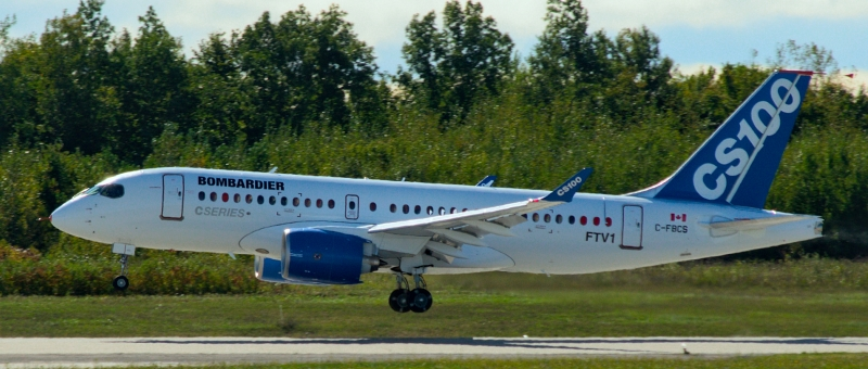 Bombardier потеснит дуополию Boeing и Airbus