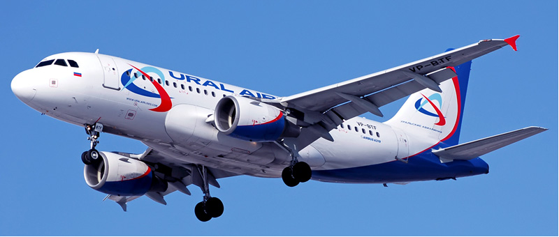 Airbus A319 Уральские авиалинии. Фото, видео и описание самолета