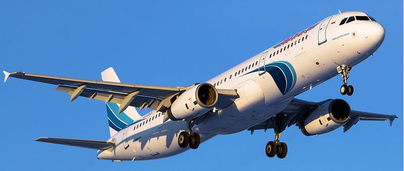Airbus A321 — Ямал. Фотографии и описание самолета