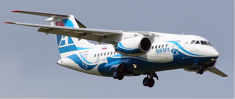 Ан-148-100Е Ангара. Фотографии, видео и описание самолета