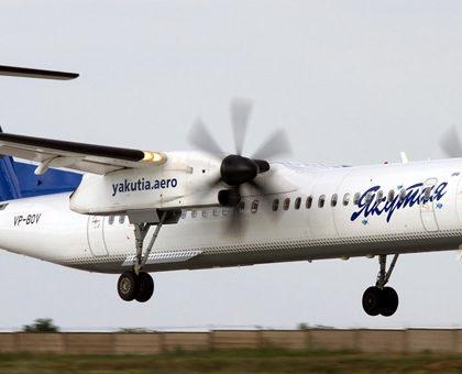 Bombardier DHC-8-400 — Якутия. Фотографии и описание