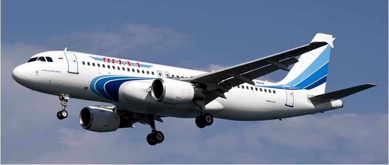 Airbus A320 — Ямал. Фотографии и описание самолета