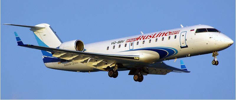 Canadair CRJ-200 Руслайн. Фото и описание самолета