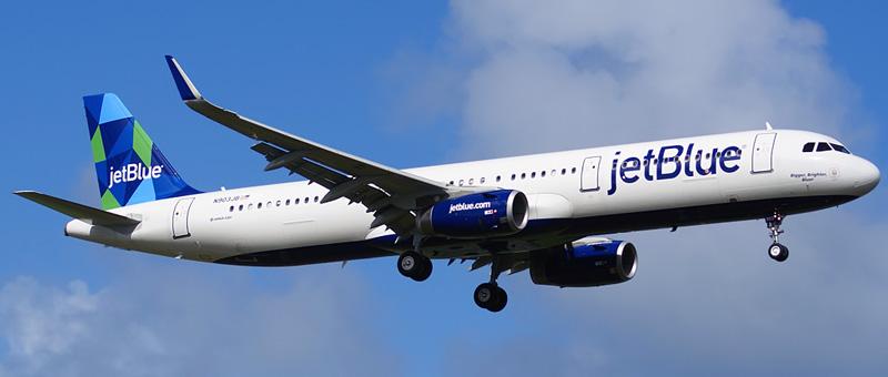 n903jb Jetblue Airbus A321-231