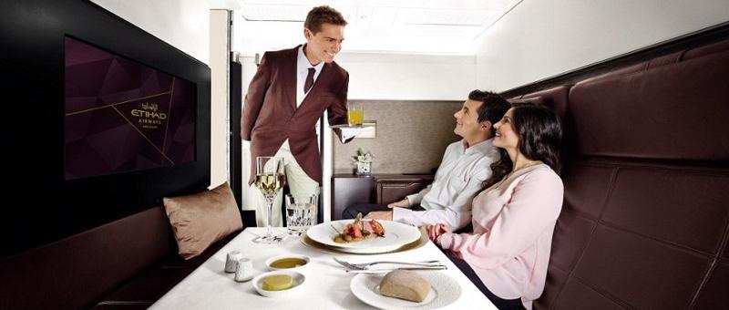 Etihad Airways предлагает авиабилет стоимостью 80 000 долларов