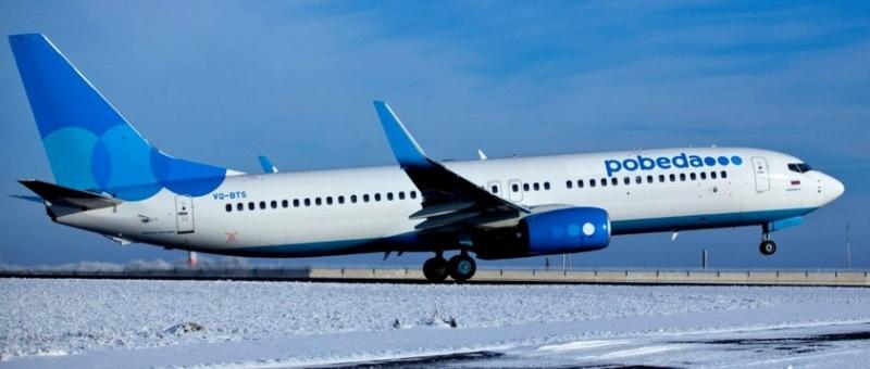 В 2017 году «Победа» получит пять новых Boeing-737NG