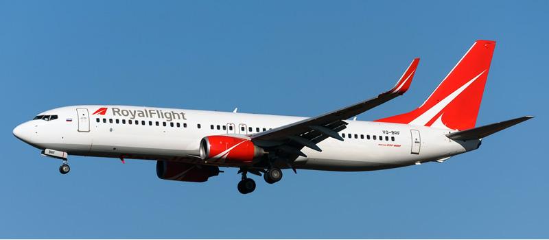 Boeing 737-800 — Royal Flight. Фотографии, видео и описание самолета