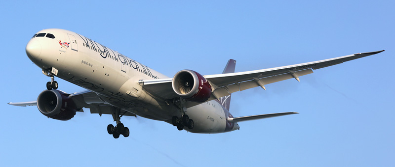 Boeing-787-9 Dreamliner Virgin Atlantic