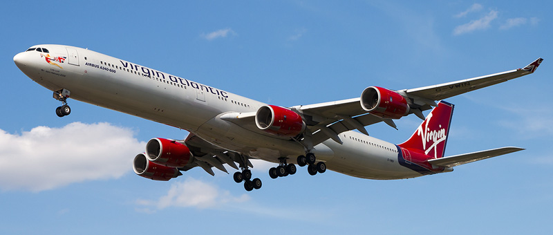Airbus A340-600 Virgin Atlantic
