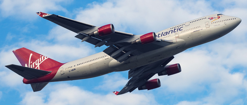 Boeing-747-400 Virgin Atlantic