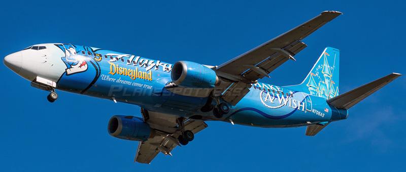 Boeing 737-400 Alaska Airlines