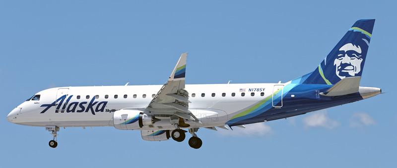 Embraer ERJ-175 Alaska Airlines