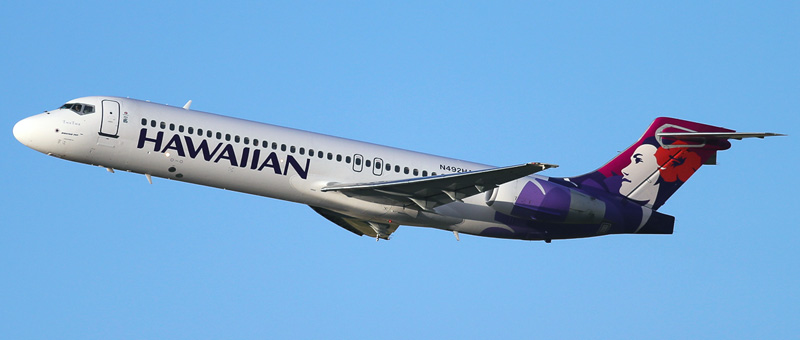 Boeing 717-2bl Hawaiian Airlines