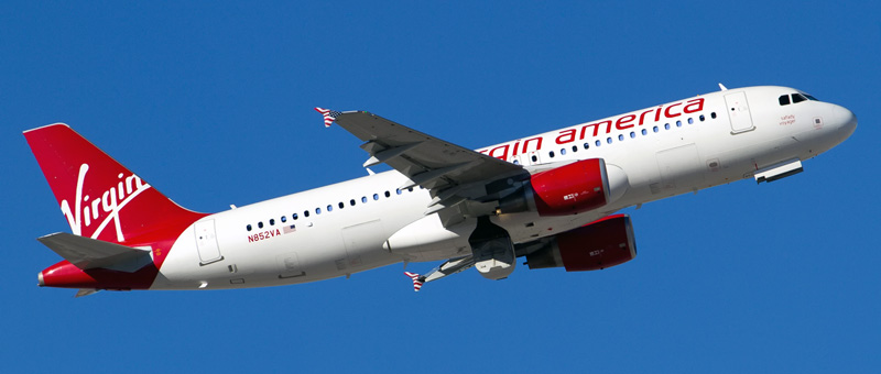 Airbus A320-200 Virgin America