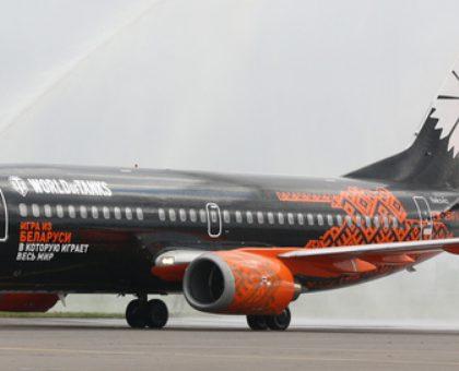 В аэропорту «Жуковский» приземлился первый пассажирский самолет