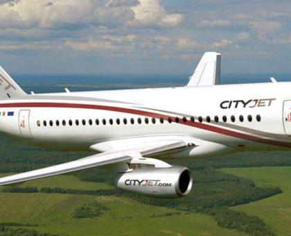 Авиакомпания CityJet удовлетворена опытом эксплуатации SSJ-100