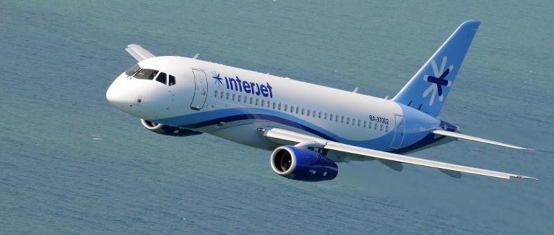 Гражданские самолеты Сухого и Interjet будут сотрудничать по новому