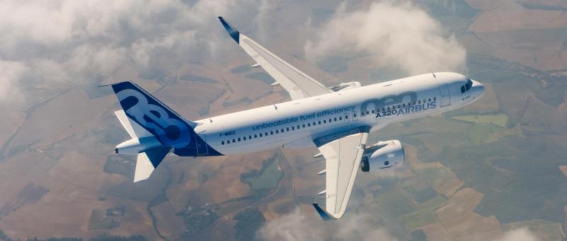 Весной 2017 года «Сибирь» получит первый Airbus A321neo