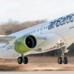 AirBaltic получила первый Bombardier CS300