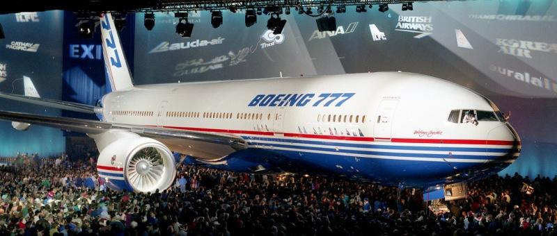 С августа 2017 года с конвейера будет сходить всего пять Boeing 777 в месяц