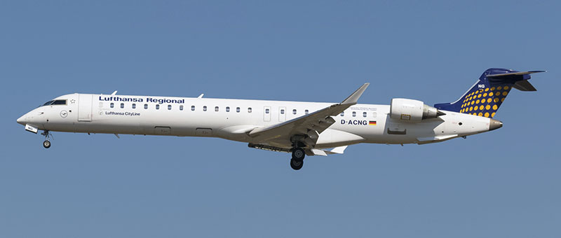 Lufthansa Cityline Canadair CRJ-900LR