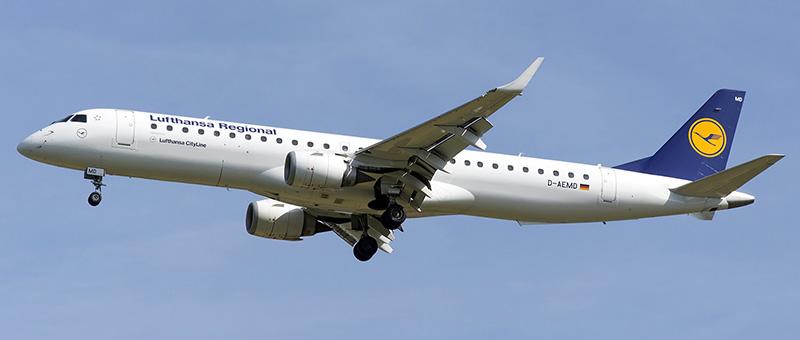 Lufthansa CityLine Embraer ERJ195LR