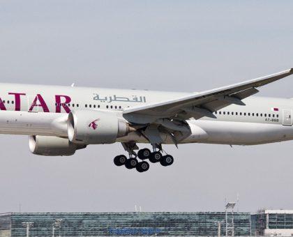 Самолет Qatar Airways пролетел 14,5 тысяч км и установил новый рекорд