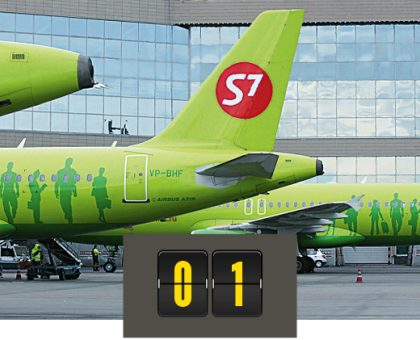 Журнал Forbes составил рейтинг российских авиакомпаний — S7 лидирует