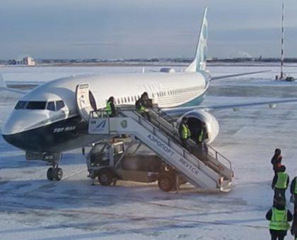 Новый Boeing 737MAX испытали якутскими морозами