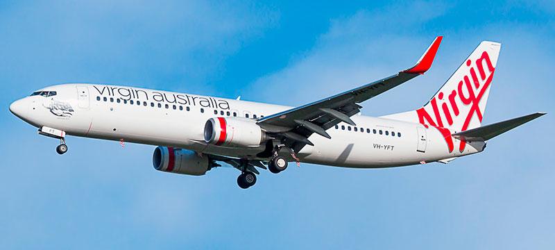 Boeing 737-800 Virgin Australia