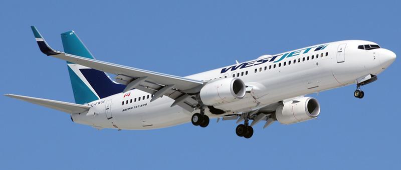 Boeing 737-800 WestJet