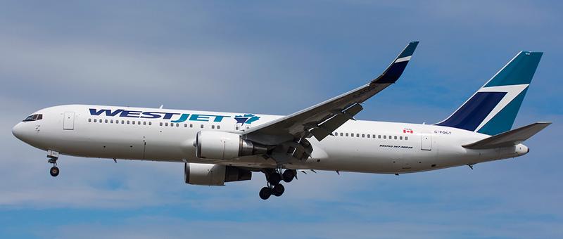 WestJet Boeing 767-300