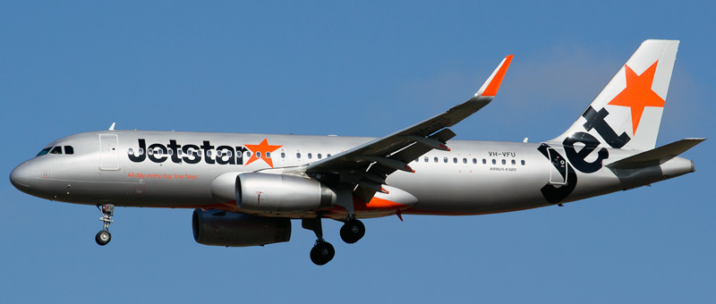 Airbus A320-200 Jetstar Airlines